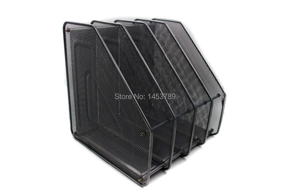 Upright desk organizer safco 3254bl onyx 3 horizontal 3 for 12x10 roll up garage door