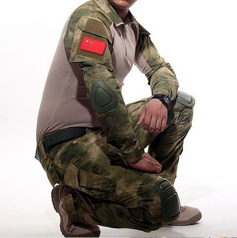Army Multicam Woodland ACU ATACS camo Combat Uniform Gen3 shirt + pants Military Suit elbow knee pads