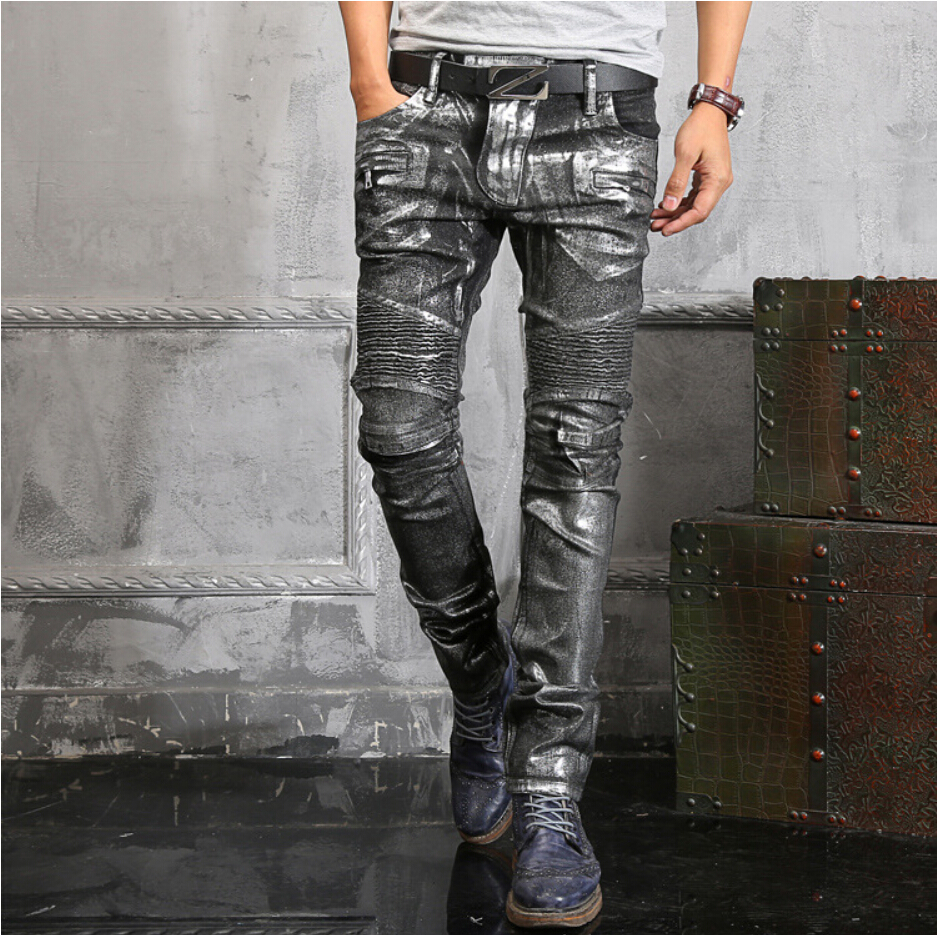 silver jeans for guys - Jean Yu Beauty