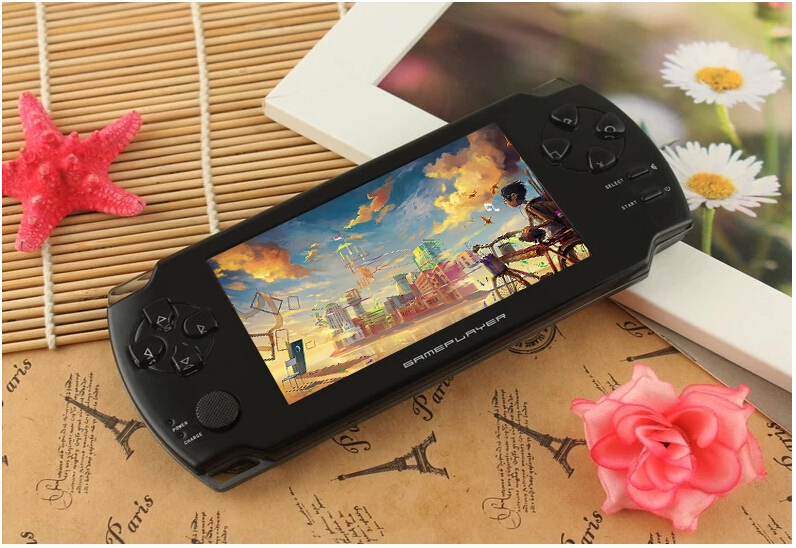 """Handheld Game Consoles Subor S10000A 4.3"""" 8GB FC Children Game Consoles Classic NES Game With Video MP3 Camera juegos Wholesale(China (Mainland))"""