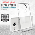 100 Original SGP Nexus 5X Ultra Hybrid Case AIR CUSHION Clear Back Panel TPU Frame Case