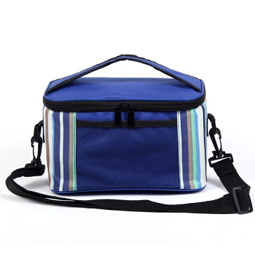 Large Capacity Thermal Cooler Bag Ice Pack Hiking Lunch Dinner bag Outdoor Picnic Insulated bag Aluminum foil Picnic bag(China (Mainland))