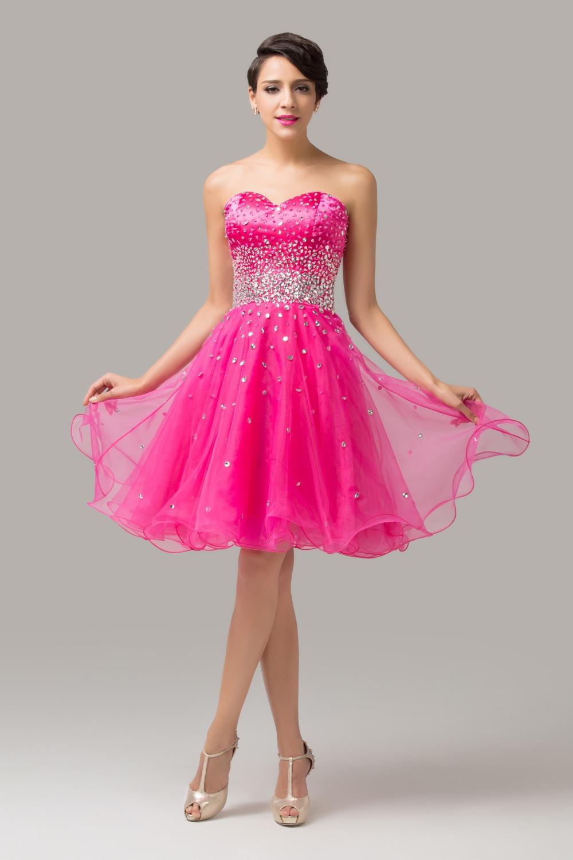 Vestidos fiesta baratos rosa – Catálogo de fotos de vestidos ...