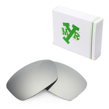 MRY POLARIZED Replacement Lenses for Oakley Hijinx Sunglasses Silver Titanium