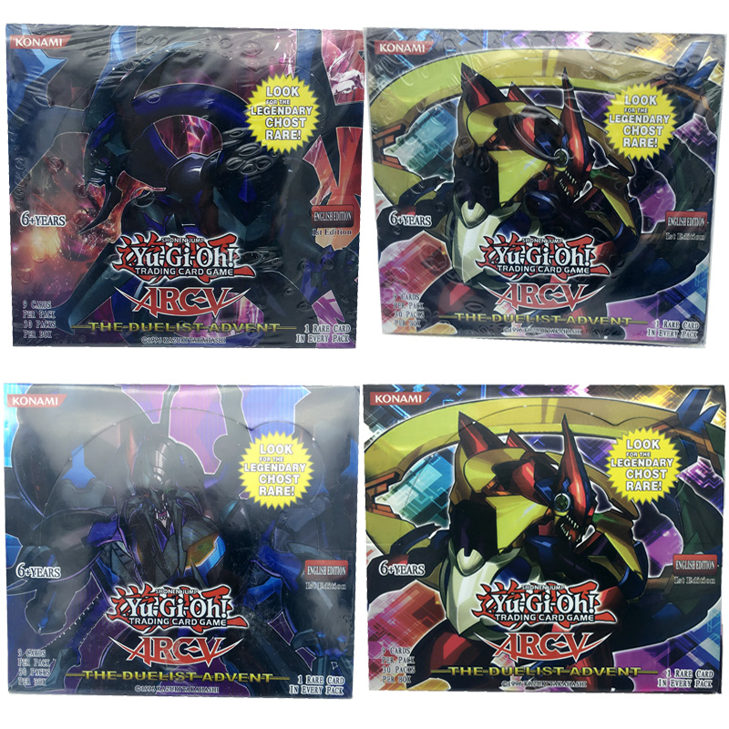 Newest yugioh card English version 216 pcs/lot yugioh cards game kid toys for children(China (Mainland))