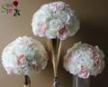 SPR Pink series table centerpiece flower ball artificial rose wedding flower wall backdrop road lead flower