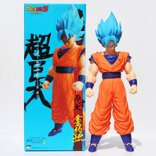 Buy 42cm Big Size Dragon Ball Z Super Saiyan Son Goku PVC Action Figure Toy Dragon Ball Figure Collectible Model Toys Box for $23.20 in AliExpress store