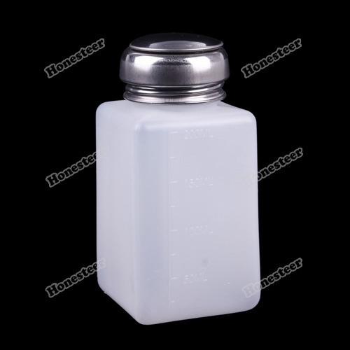 Cheapfirst nicer 200ML Nail Polish Remover Alcohol Liquid Press Pumping Dispenser Cleaner Bottle Original(China (Mainland))