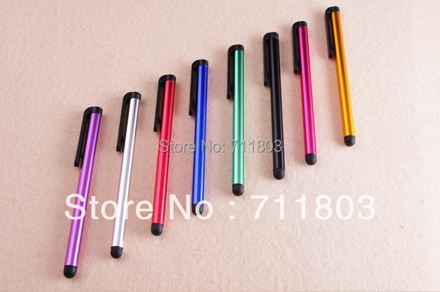 Touch Pen stylus For iPhone iPad iPod Samsung Universal Capacitve 100pcs/lot Mix Colors