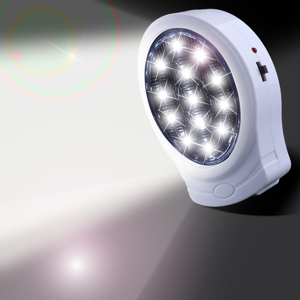 13 Led Rechargeable Home Office Wall Emergency Light Power Failure Automatic Outage Lamp Bulb 110