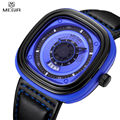 MEGIR Men Waterproof Auto Date Multifunction Casual Watch Unique 3D Engraved Dial Military Sport Hot Sale