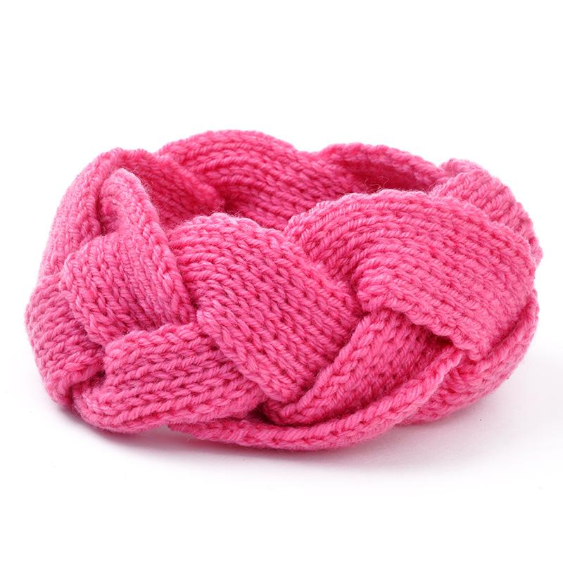 Hot Sell women Girls Headband Stretch Crochet Twist Knitted Turban Head Wrap(China (Mainland))