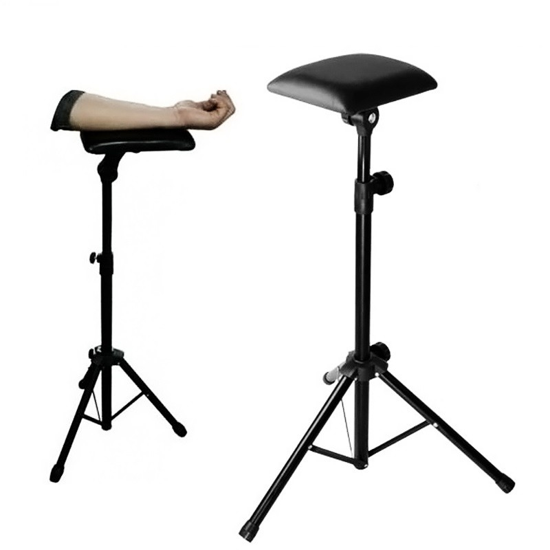 Wholesale-Hot-Sales-Bracket-Armrest-Stand-Adjustable-Height-Holder-Tattoo-Tripod-Machine-Supplies-Accesories-With-Sponge
