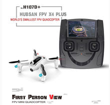 Hubsan x4 H107D+ RC Quadcopter FPV Helicopter with Camera Live Video Transmitter