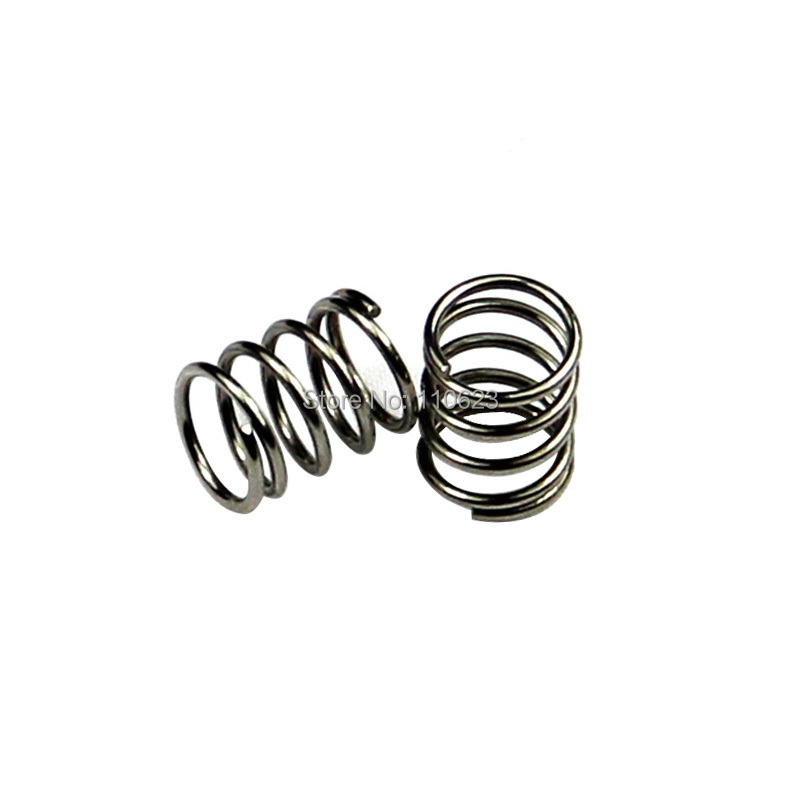 Top quality 2pcs feeder spring 3D printer accessory for Ultimaker Makerbot Wade extruder