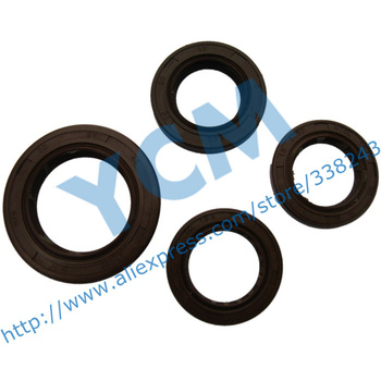 High-Quality Fluorine Rubber Oil Seal Set GY6 125 150CC FKM Oil Seal Wholesale Scooter Parts YCM