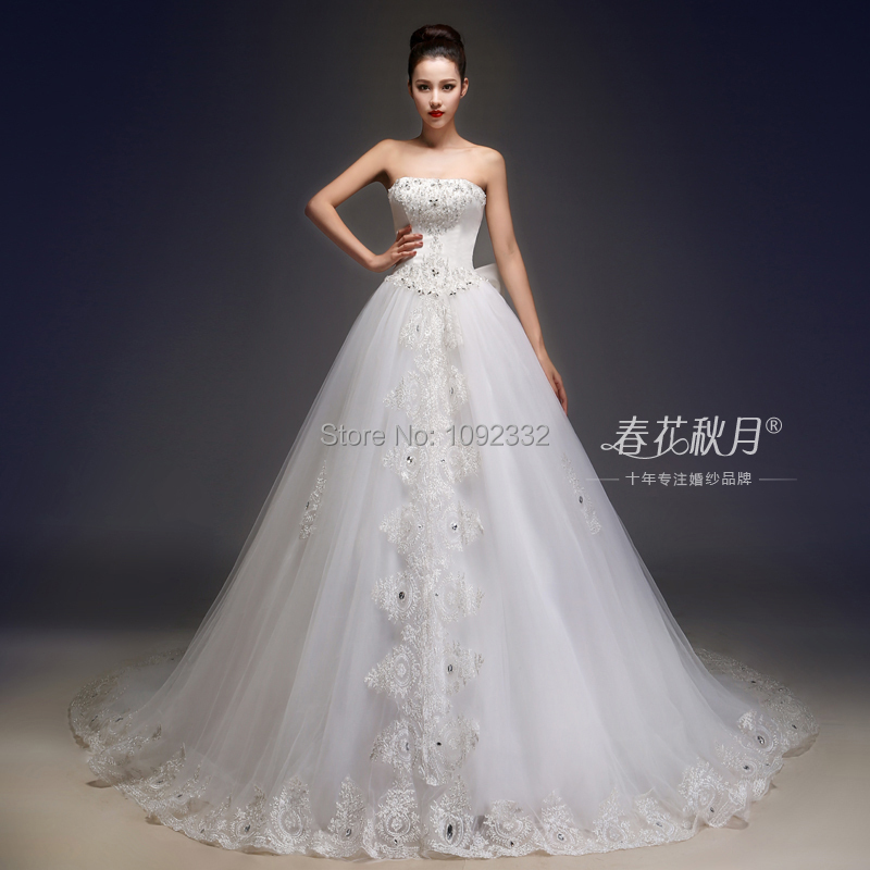 Top Luxury Wedding Dress : S stock new plus size women sexy luxury tube top
