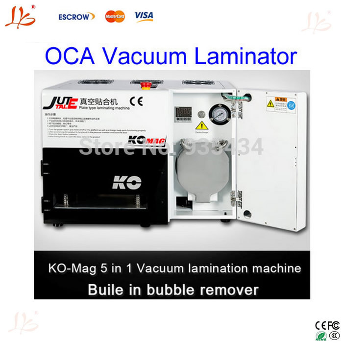 Free ship! Newest with bubble remove machine for 7 inch screens LY898 automatic OCA laminator lcd vacuum laminating machine(China (Mainland))