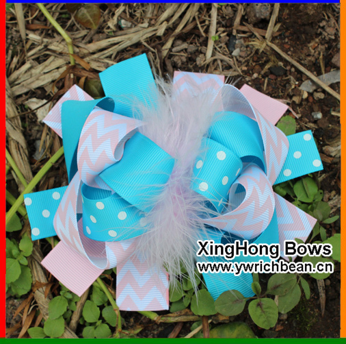 boutique large kids baby decorations for hair of grosgrain ribbon bows with clips for girls hairbows hairpins accessories yiwu(China (Mainland))