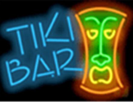 Tiki Bar Signboard Billboard Shop Neon Sign Commercial Avize Outdoor Nikke Air Jorrdan Neon Signs Glass Tube Handicraft 17*14(China (Mainland))