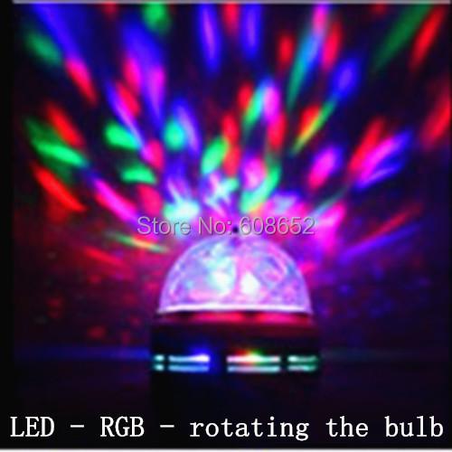 2014 most fashionable LED-RGB-automatic color changing LED-Bulb Light(China (Mainland))
