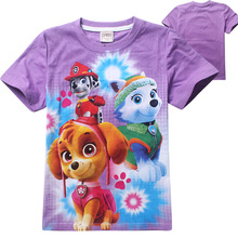 Summer  Girls T Shirts 100% Cotton Children Kids Baby Boys Girls Tops T-shirt  Tees t shirt Clothings Cartoon Tops Tees