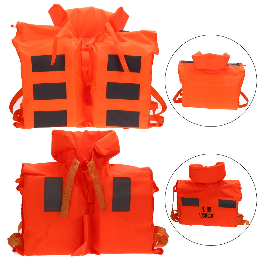 Marine Life Saving Vest For Kids Life Jacket Foam Life Jacket Safety Water Sports Safety Accessories For Children US#V(China (Mainland))