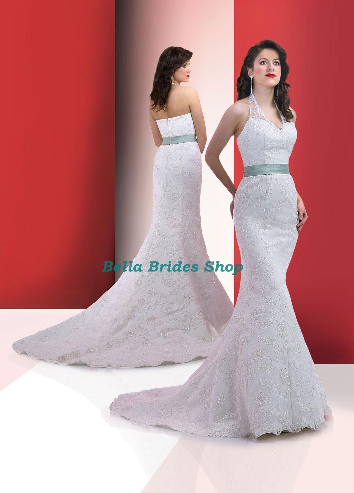 2011 Beautiful Best Price Mermaid Halter Royal Princess