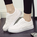 2017 spring new women s shoes Korean white shoes casual students high quality shoes shallow mouth