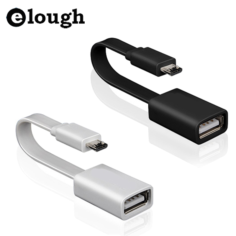 Elough Android Smartphone Micro USB to USB OTG Cable Adapter Hub For Xiaomi Samsung Meizu Huawei HTC MP3/MP4 Tablet PC etc(China (Mainland))