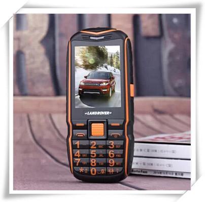 New Unlocked Discovery T39 Waterproof Elder Old Man Phone Dual SIM GSM 5800mAh Battery Power Bank longtime Standby Phone