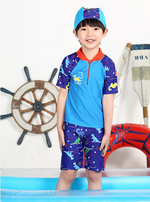 купальник для девочек Kids boys swimwear 2015 2 2/9 children swimsuit boy fit ep 710