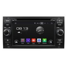 HD 1024*600 Quad Core Android 5.1.1 Car DVD Player Radio Stereo for Ford Focus S-MAX Galaxy Mondeo C-MAX Fiesta Fusion Transit