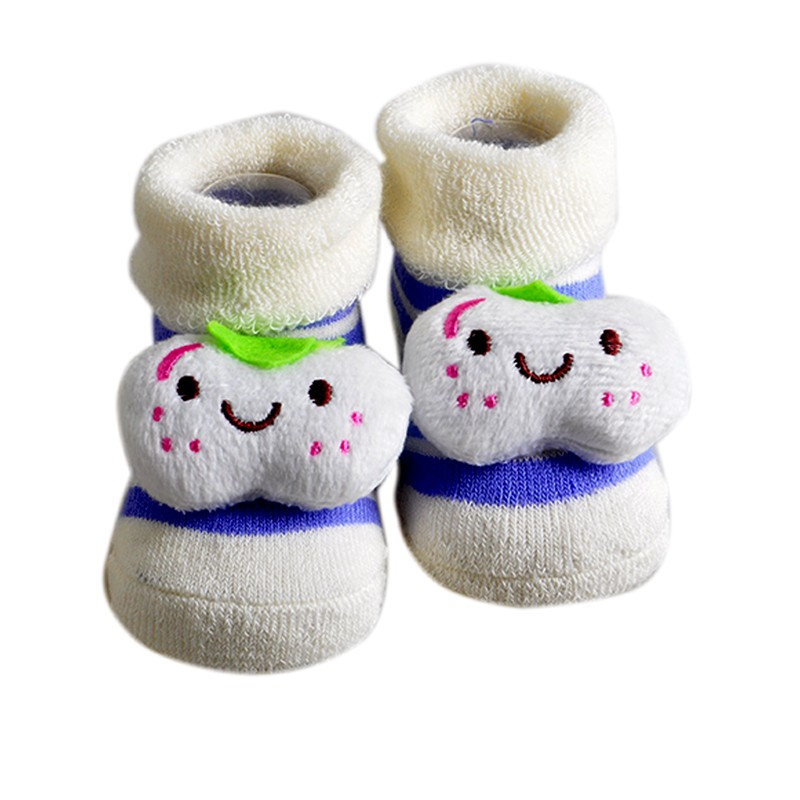 6 Стили детские носки Прекрасные смазливая 0-6M новорожденный носки животных мультфильм кукла младенческой носки Модель Антискользящая Мальчики Девочки Носки