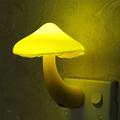 EU US Plug LED Night Light Mushroom Wall Socket Lights Lamp for Bedroom Home Decoration Hot