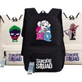 New Batman Suicide Squad Backpack Anime bags Student oxford Schoolbags AS Gift