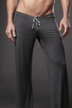 Summer male lounge pants solid color yoga clothes pants customize rubber band fitness trousers exercise casual pants