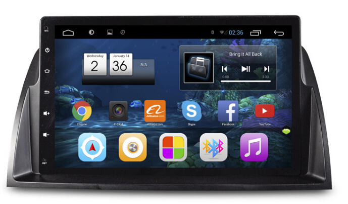 9inch 1024X600 Touch screen 1.6GHZ 16GB Quad Core Android 4.4 Autoradio DVD GPS Navigation for Mazda 6 ATENZA WIFI OBD BT RDS<br><br>Aliexpress