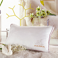 Yafinniti Pure cotton jacquard down pillow Comfortable Pillow good partner white Pillow For Health 74cm 48cm