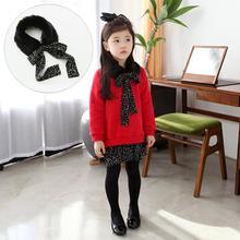 2016 autumn new style girl's 2-piece fleece long sleeve peplum sweater pullover design girl's kids long shirt with Fur collar(China (Mainland))