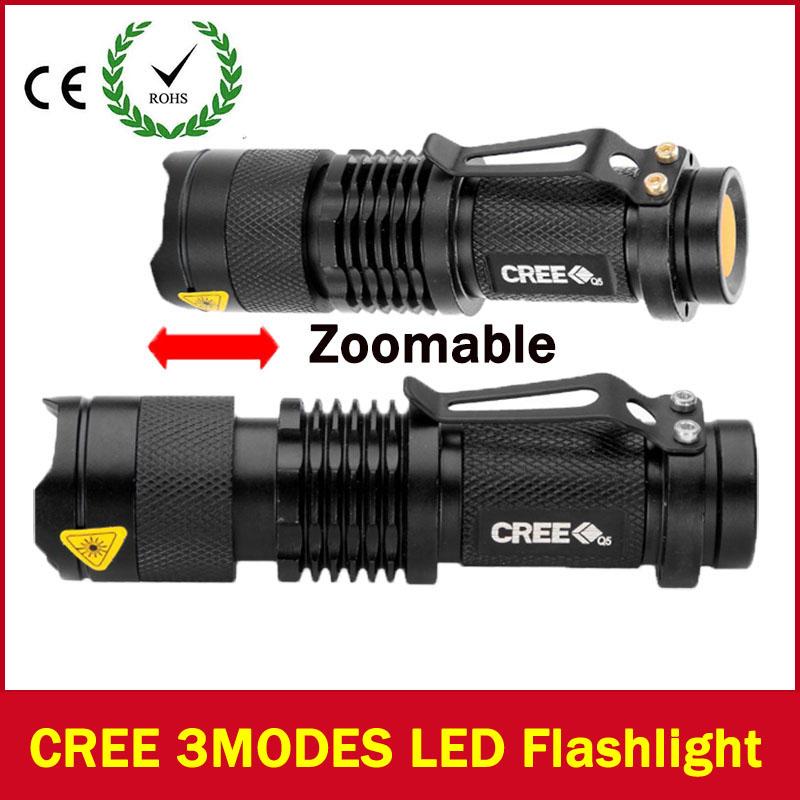 LED flashlight Lanterna Powerful LED Flashlight Torch lanterna tatica 2000 lumen Zoomable mini lantern Dropshipping ZK92(China (Mainland))