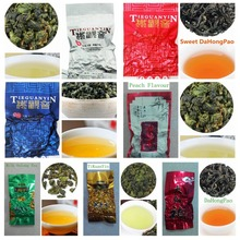 7 kinds sweet oolong tea milk chinese tea dahongpao tikuanyin fruit sweet Oolong tea tieguanyin 100g promotion discount FreeShip