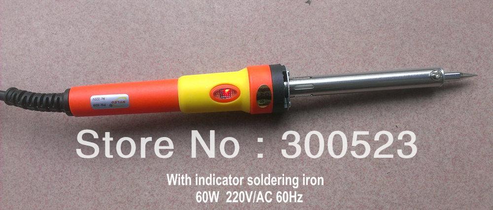 Solder soldering iron, brazil plug, 60W 220V light lead free, , - geli tools Store store