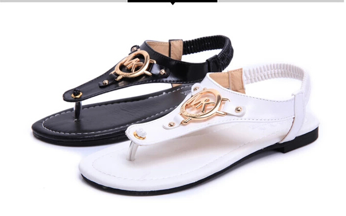 Thong sandals women flat sandals herringbone flat shoes black with a white sand beach sandals in the summer students(China (Mainland))
