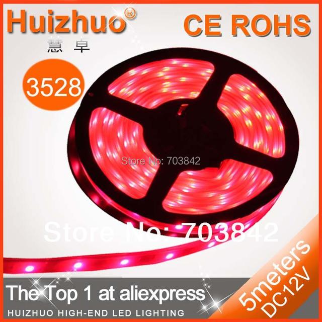Holiday sale SMD3528 60 LEDs/m Non-waterproof DC12V LED Strip Light  Flexible Strip Light