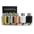Newest Kennedy 24 RDA Atomizer Update Kennedy 22 Vaporizer Atomizer 24mm Deck Bottom Airflow 510 Thread