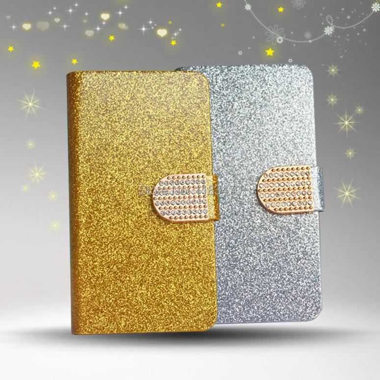 For Motorola RAZR D1 XT918 Case Luxury Glitter Diamond PU Wallet Leather Case For Motorola D1 XT918 Flip Buckle Stand Card Bag(China (Mainland))