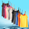 Summer Casual Sport Running Render Vest Slash Neck Tees Ladies Bottoming Shirts Strapless Tanks Top Halter