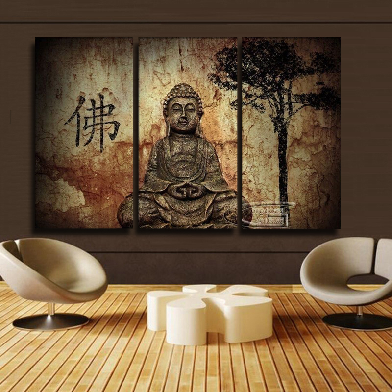 Aliexpress Com Buy Free Shipping 3 Piece Wall Decor: Popular Buddha Face-Buy Cheap Buddha Face Lots From China