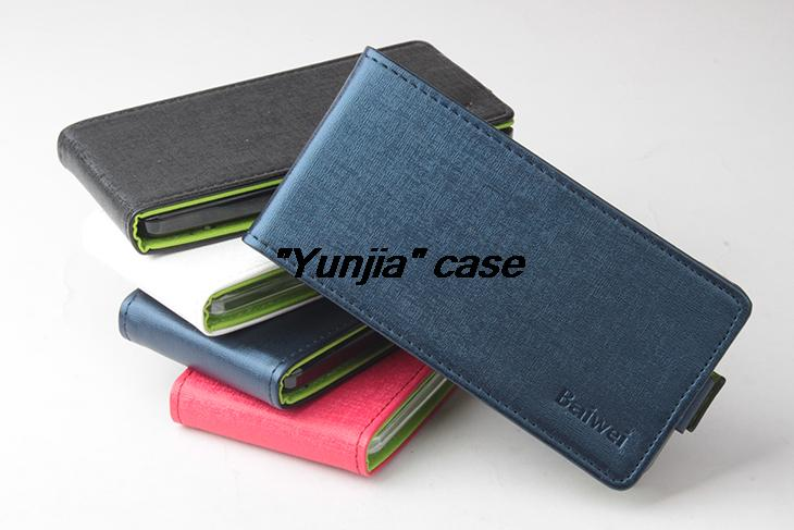 Ascend G600 Brand Flip Leather Cover Case Skin Back Huawei Honor 2 U8950D U9508 C8950D 4 color Freeshipping - Miss Chen in Shenzhen store